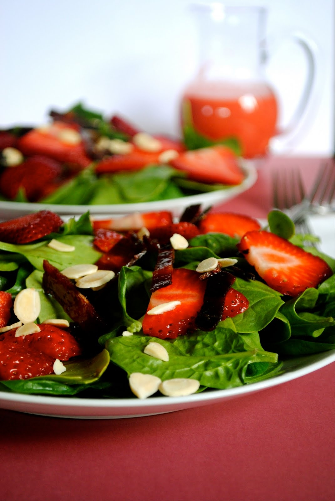 Strawberry Spinach Salad | Fat Girl Trapped in a Skinny Body
