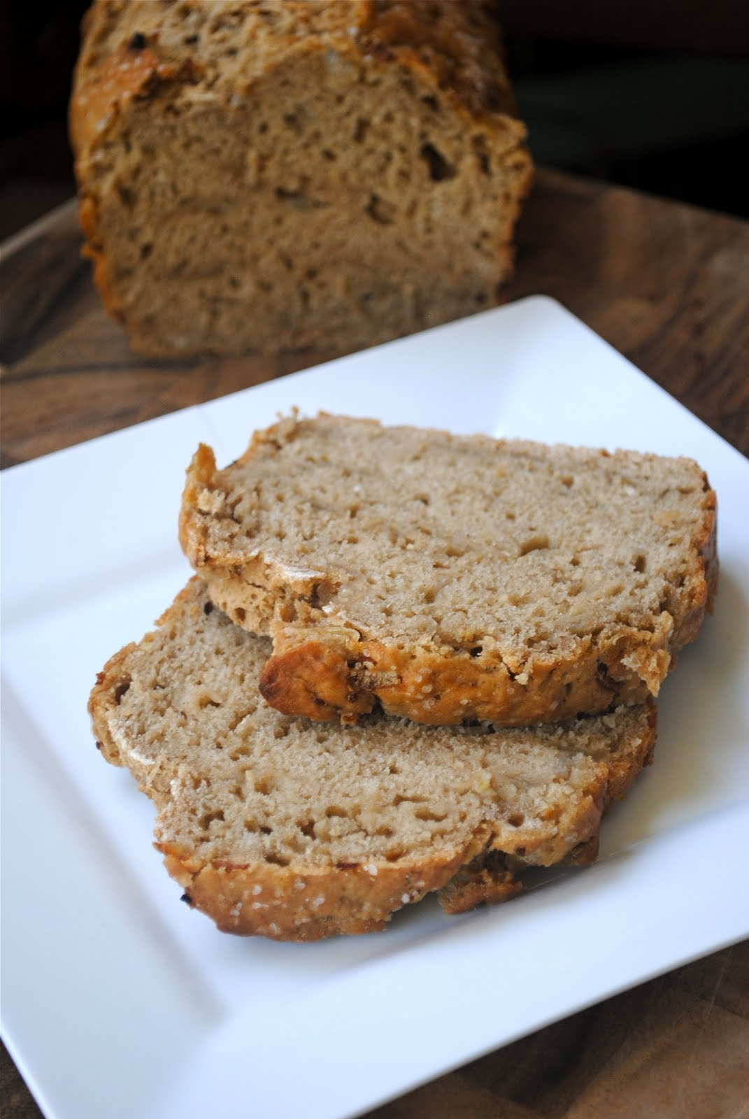 Caramelized Onion Beer Bread Fat Girl Trapped In A