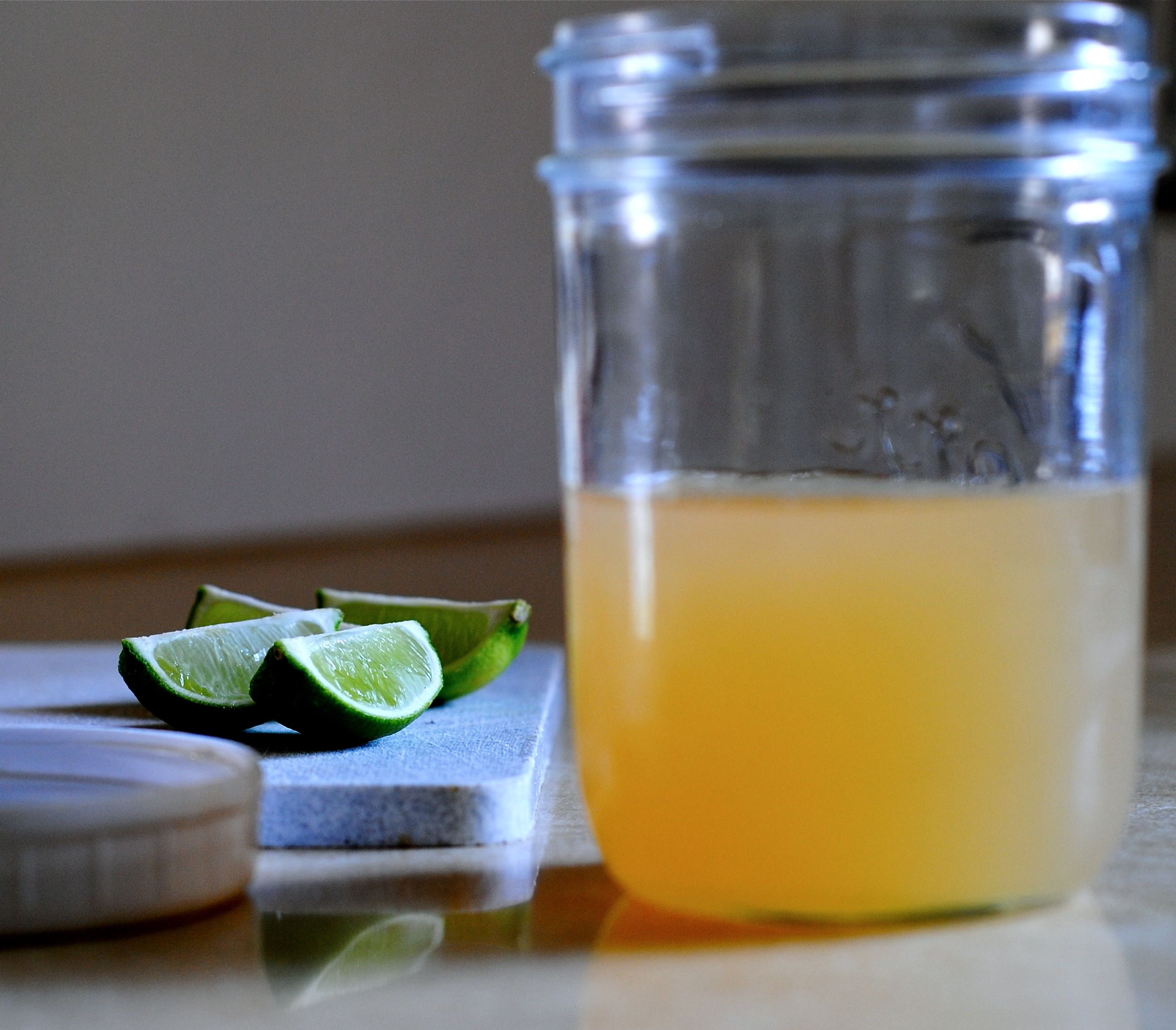 ... Homemade Sweet & Sour Mix for a Midori Sour » sweet and sour mix 1
