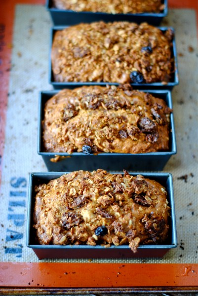 granola carrot bread 4