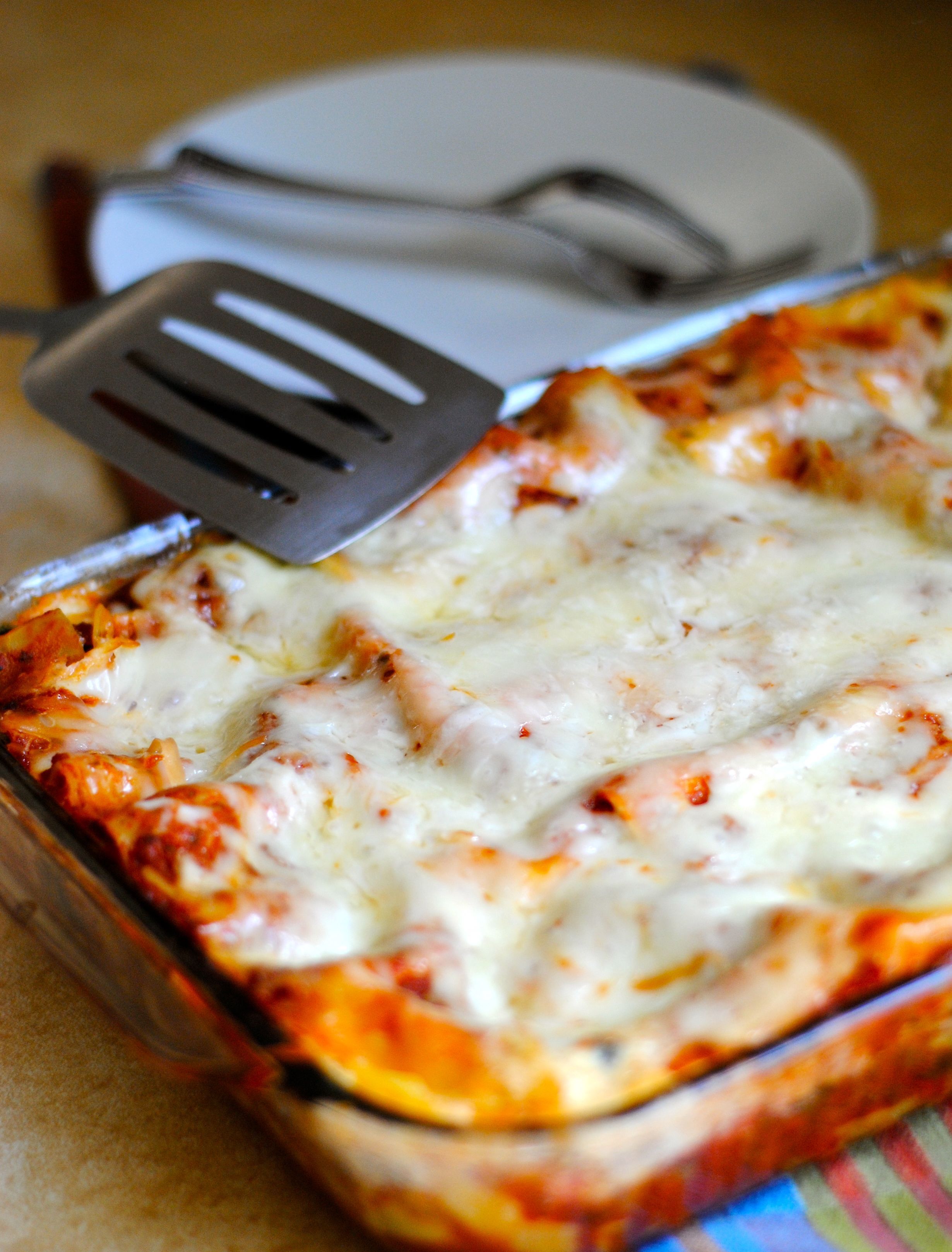 home cheese roasted vegetable lasagna lasagna 2