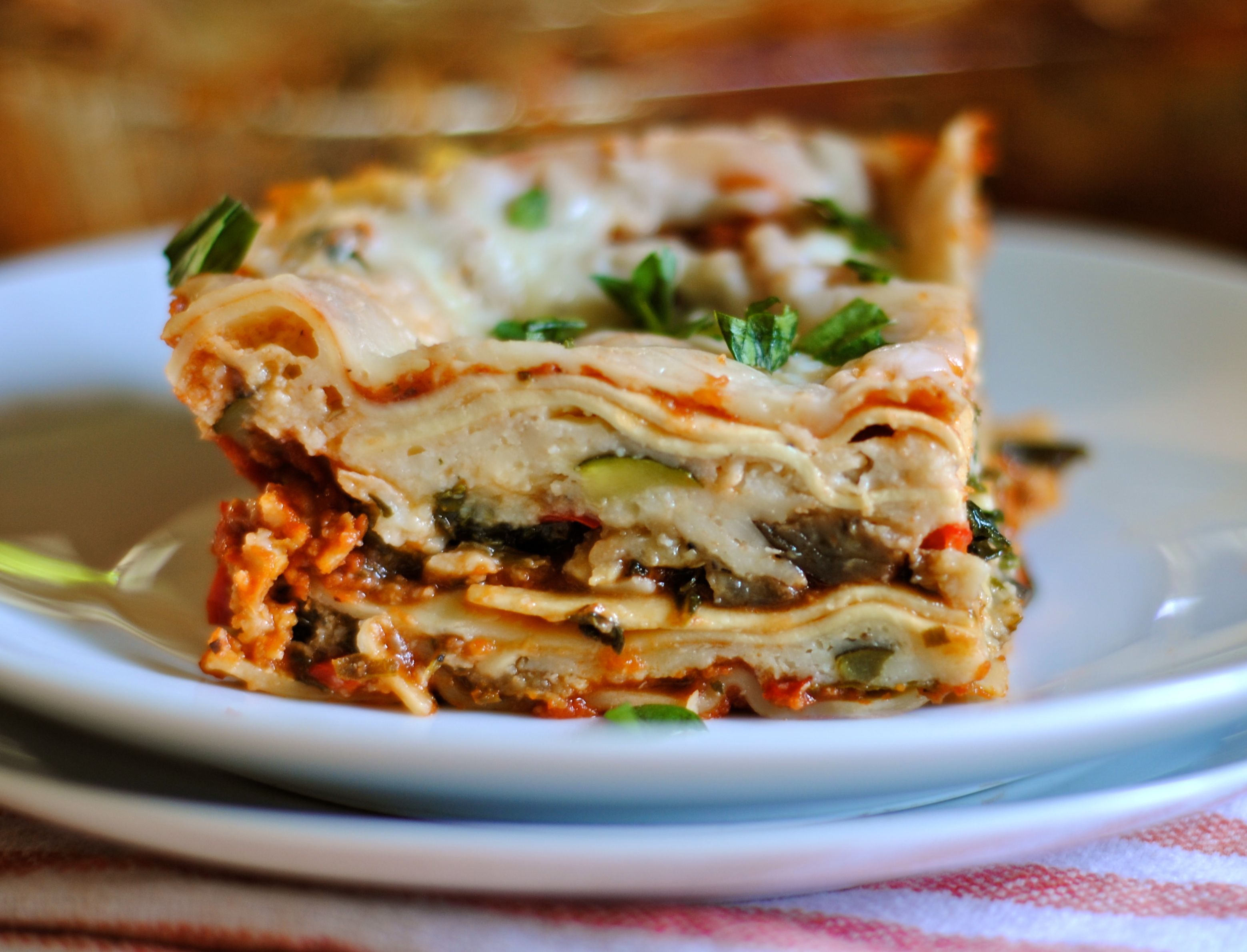 home cheese roasted vegetable lasagna lasagna 5