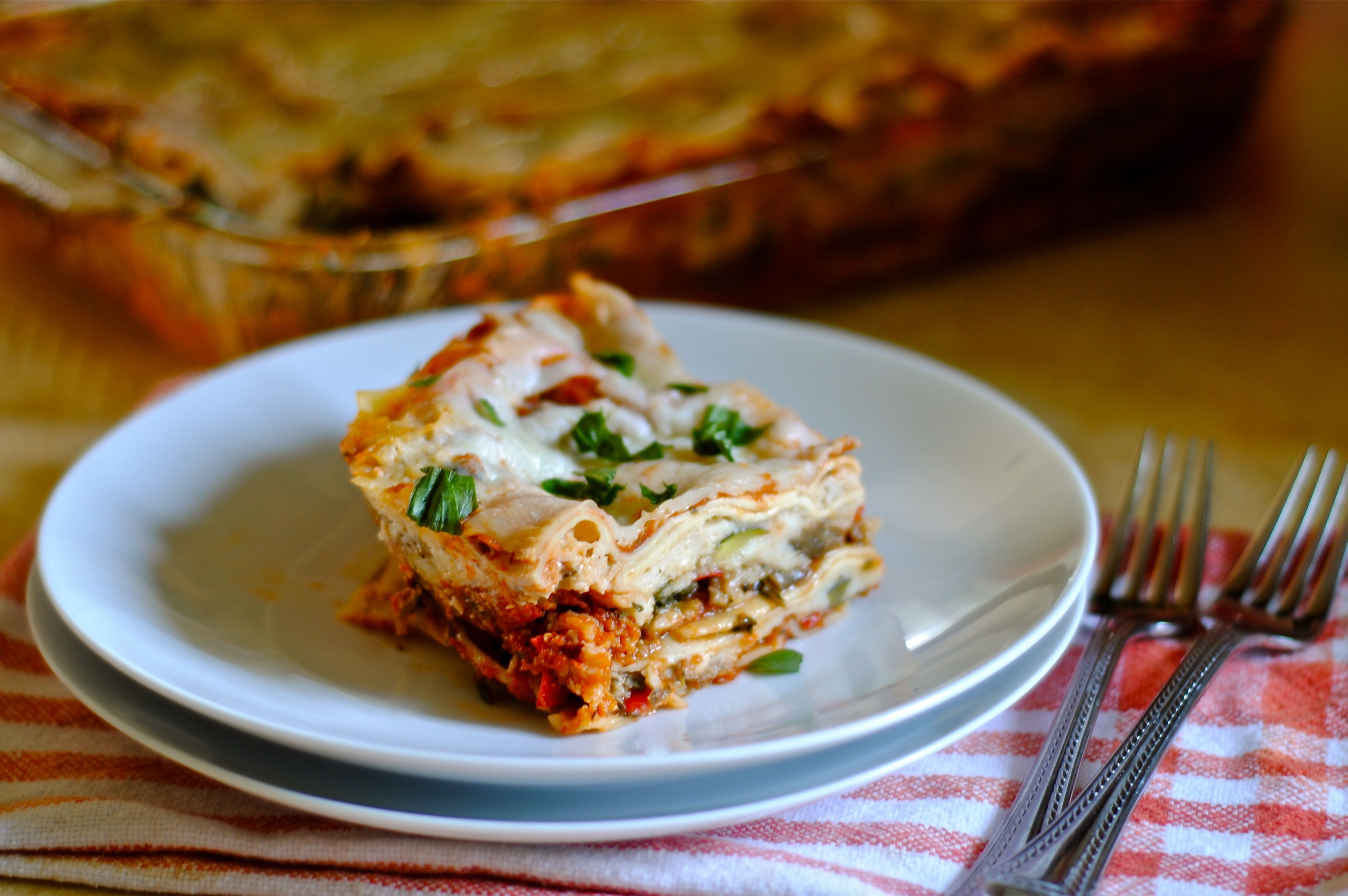 Roasted Vegetable Lasagna | Fat Girl Trapped in a Skinny Body