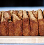 gingerbread pull apart bread 2