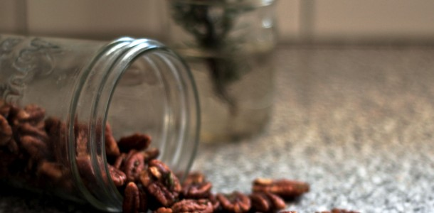 brown butter rosemary pecans 2
