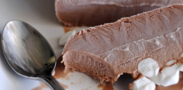 Frozen Hot Chocolate Ice Cream | Fat Girl Trapped in a ...