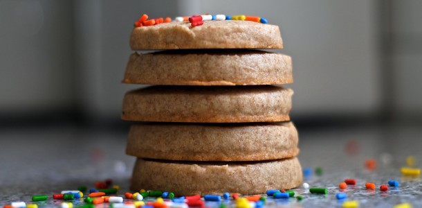 whole wheat slice-n-bake sugar cookies