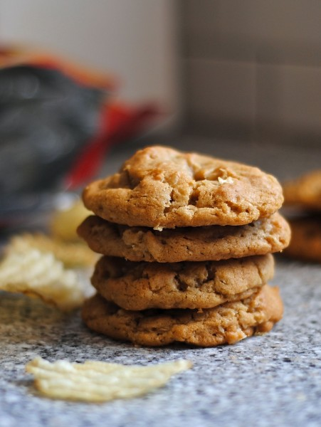chewy potato chip cookies 3