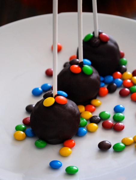 chocolate cake pops 3
