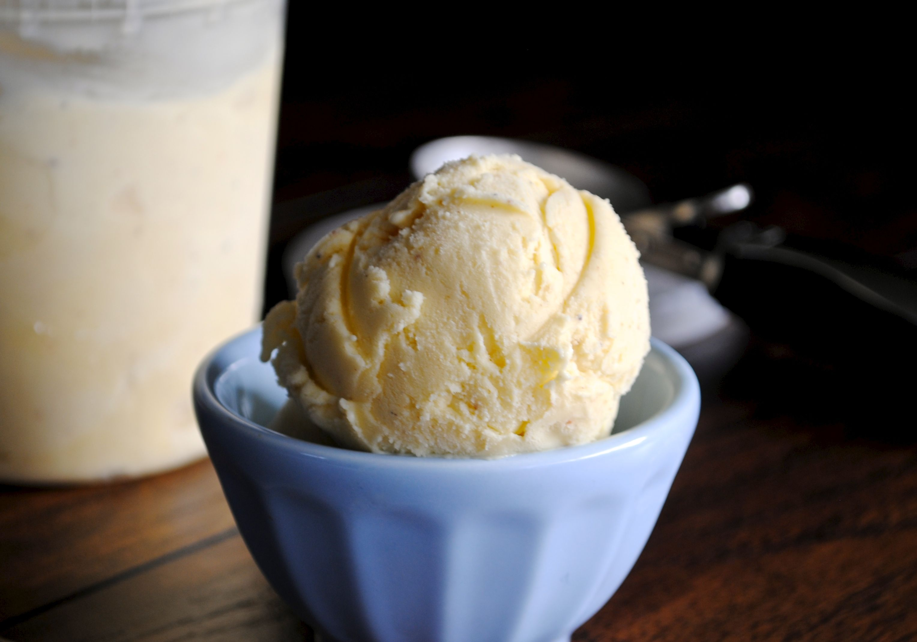 Eggnog Ice Cream | Fat Girl Trapped in a Skinny Body