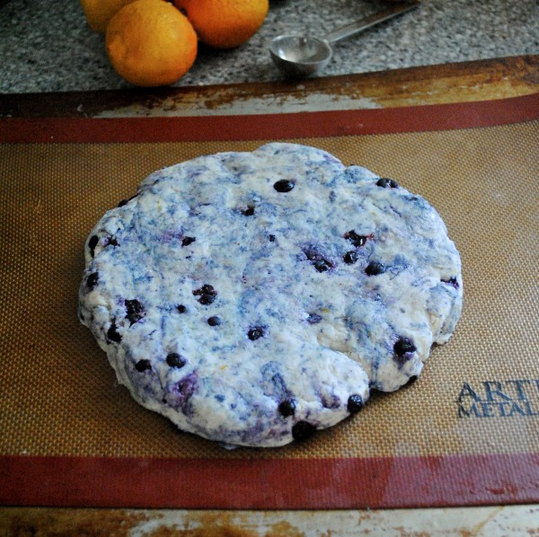blueberry cream scone 2