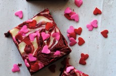 red velvet cream cheese swirl brownies