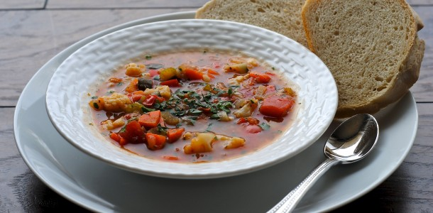 vetegable soup