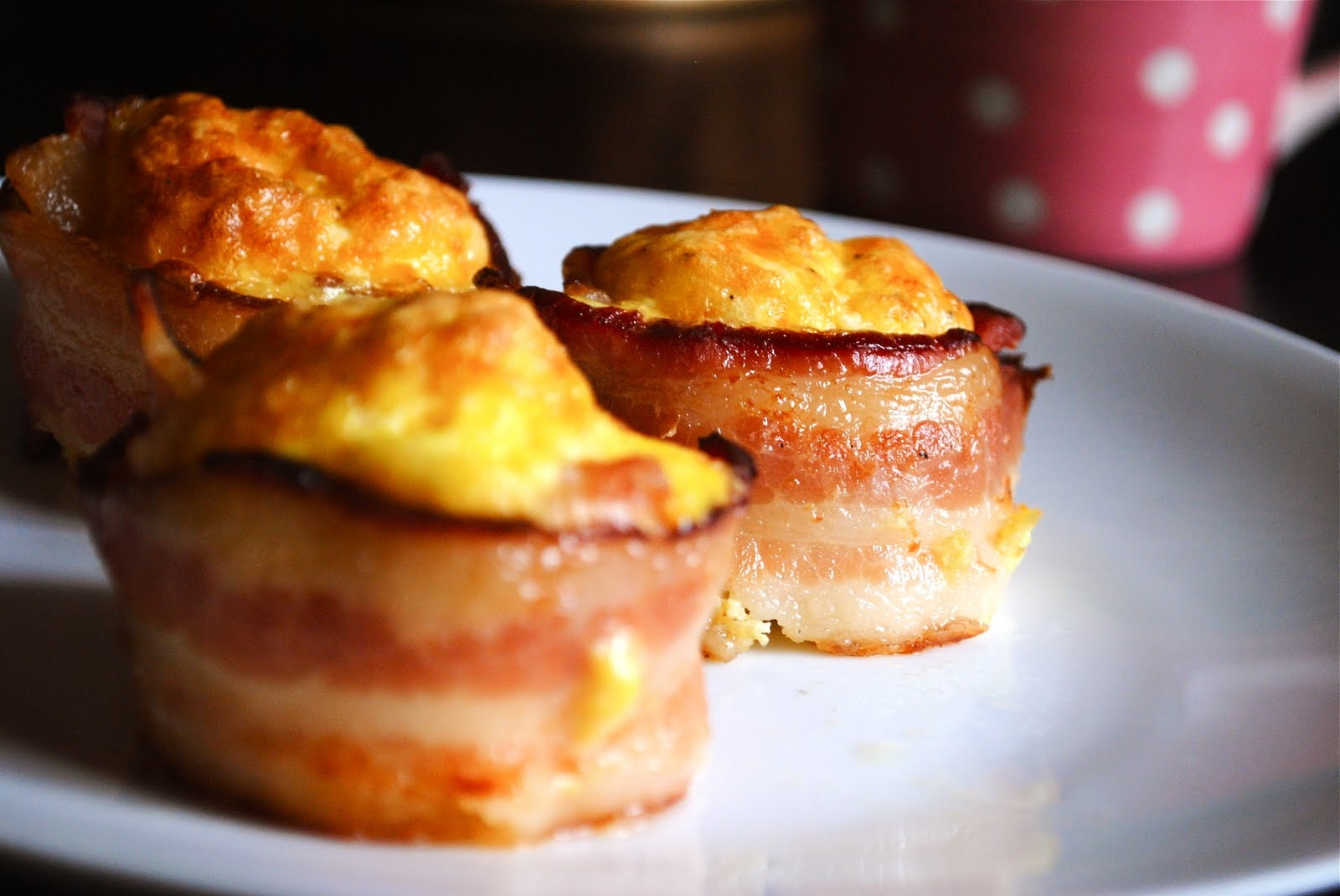 Deep in the Heart of Tejas: Bacon Cups?!!