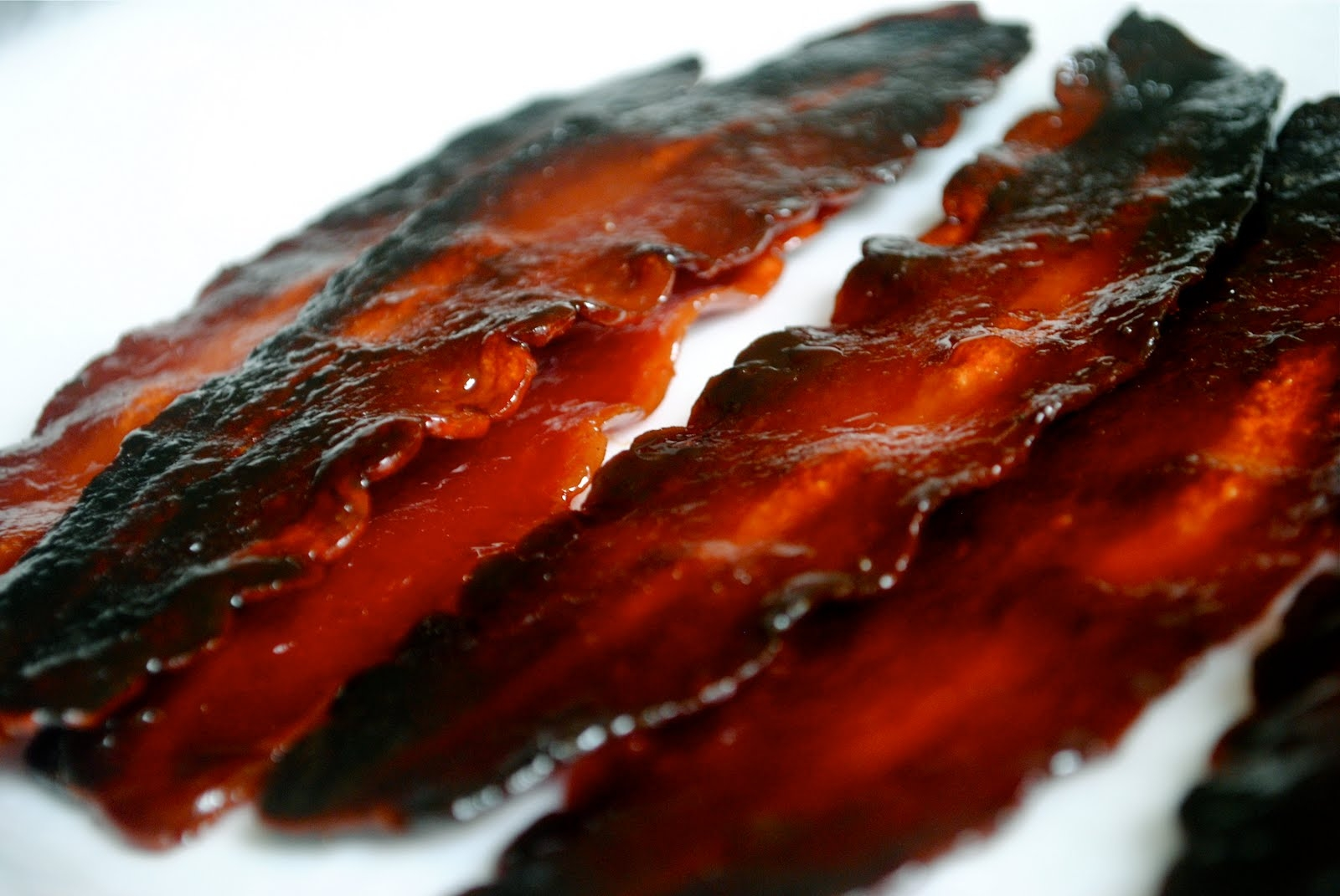think the whole candied bacon thing is kinda well known by foodies ...