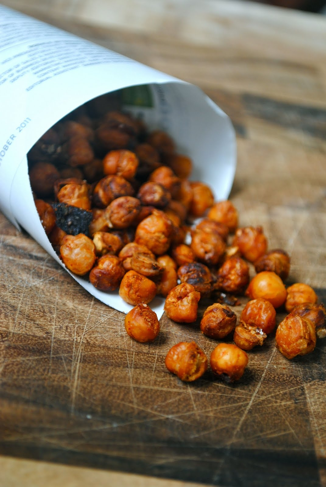 Baked Spiced Chickpeas – Secret Recipe Club | Fat Girl Trapped in a ...
