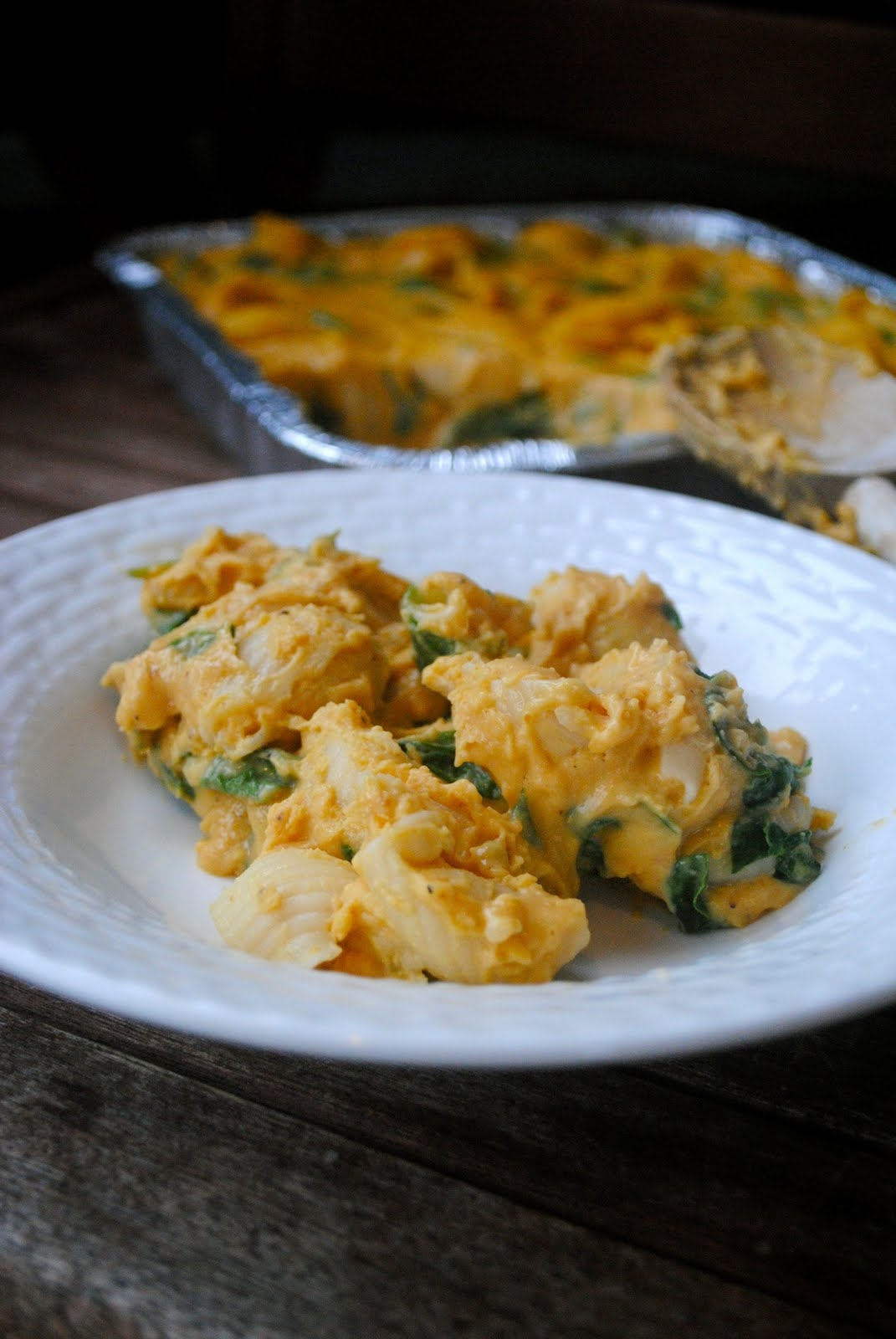 pumpkin mac and cheese healthy makeover recipe pumpkin mac and cheese ...