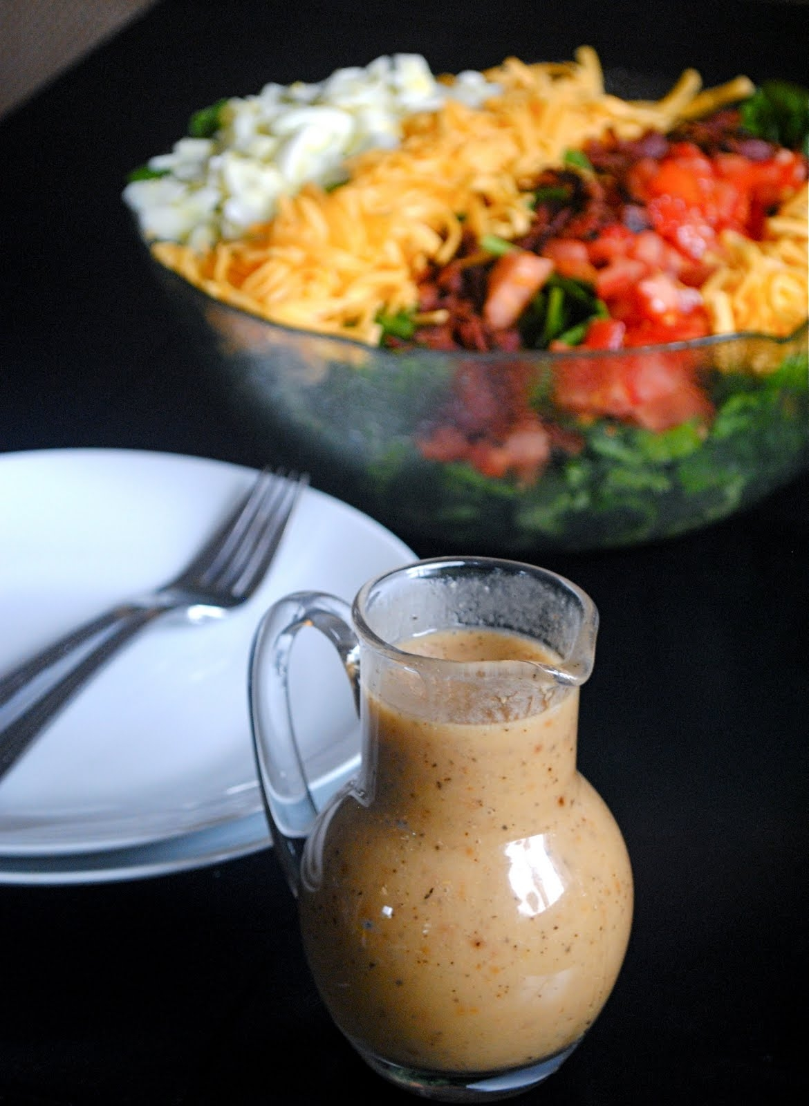 Roasted Garlic Vinaigrette Dressing | Fat Girl Trapped in a Skinny ...