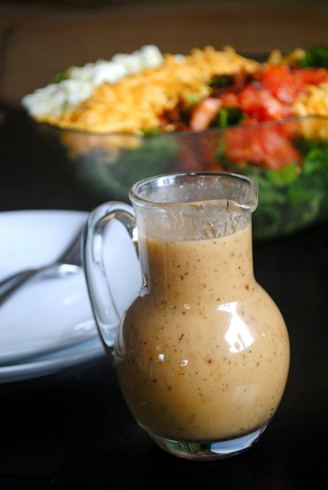 Roasted Garlic Salad Dressing Recipe — Dishmaps