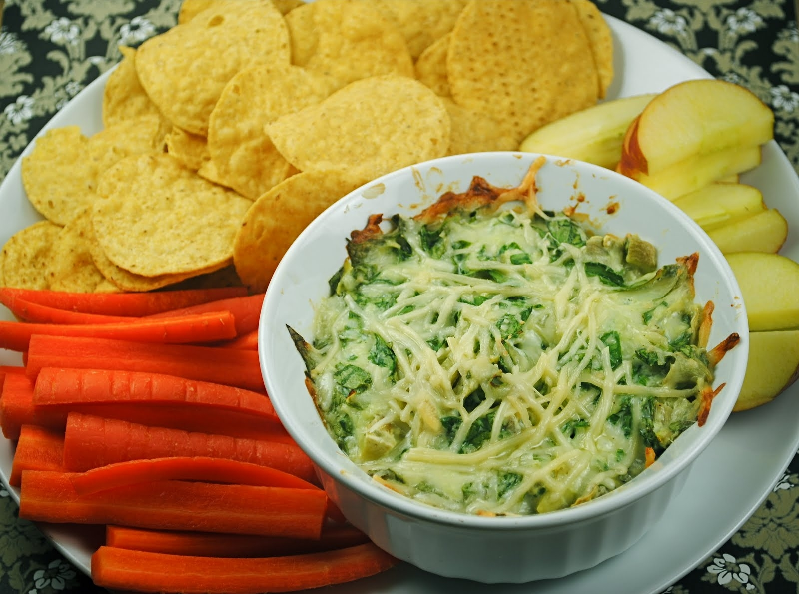 Spinach and Artichoke Dip made healthy??? | Fat Girl Trapped in a ...